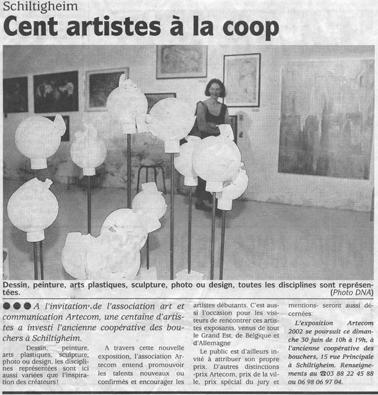 Expo d'art contemporain à Schiltigheim